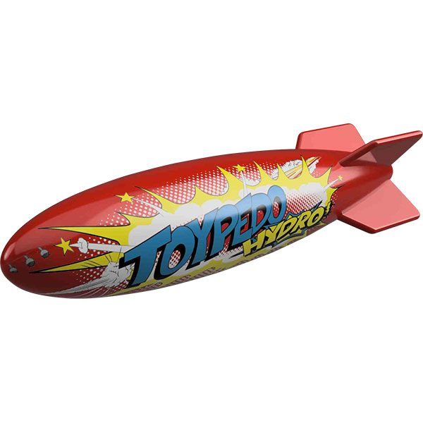 Toypedo Hydro underwater swimming pool toy.
