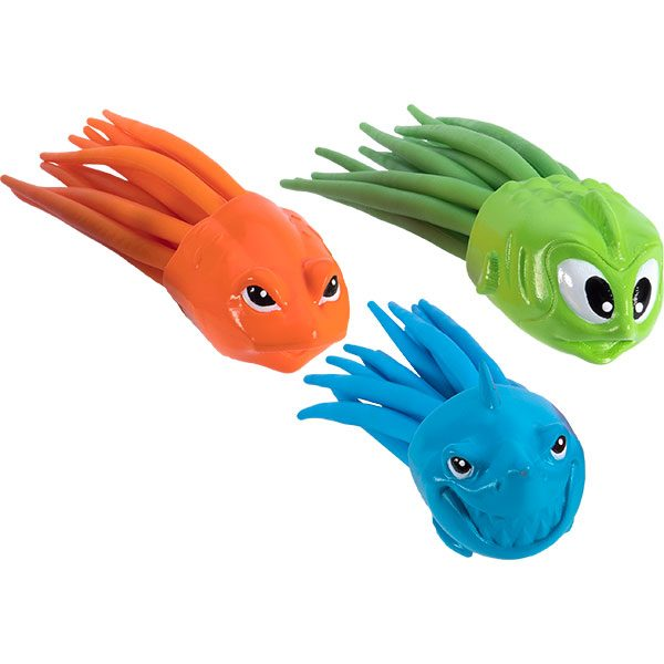 SquiDivers soft underwater childrens swimming pool toy.