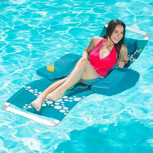 Aluminum Frame-Textilene PVC Coated Mesh Elluna Lounge Pool Float
