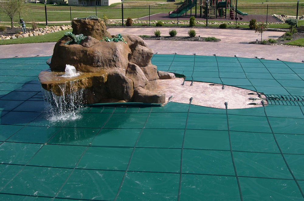 Secure and Clean Solid - Mesh Swimming Pool Safety Covers ...