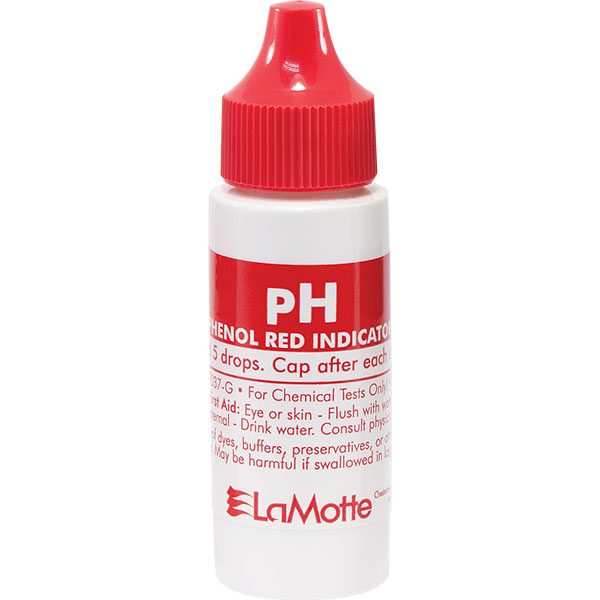 LaMotte replacment pool water pH test reagent 7037-G - 30 ml.