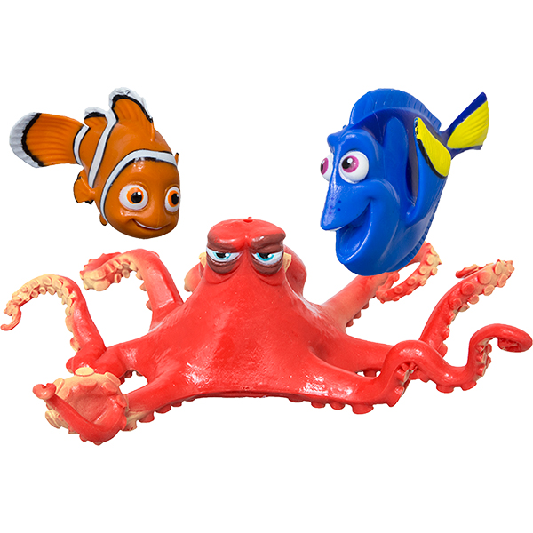 Finding Dory characters soft, flexible swimming pool dive toys.