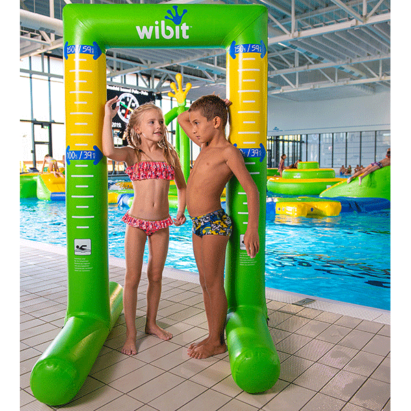 Wibit KidsScale for height measurement for use of WibitKids inflatables.